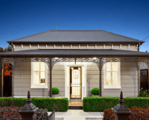 The Personality Of Interior:Exterior Colour Schemes